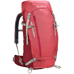 VAUDE Asymmetric 38+8 Backpack Women indian red